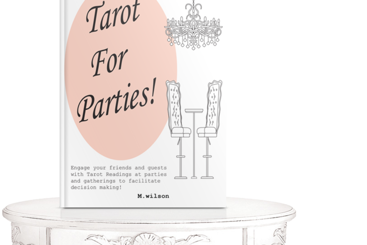 Tarot For Parties! by m.wilson LDP Bookstore - Book Publishers in California