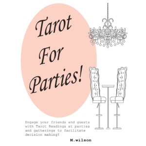 Tarot For Parties! by m.wilson nonfiction - Booksellers Affiliate Resale Books