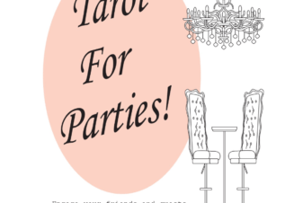 Inspired Tarot- Tarot For Parties! by m.wilson nonfiction - Booksellers Affiliate Resale Books LDP Bookstore - Tarot For Parties! by M.wilson - Tarot & Socializing