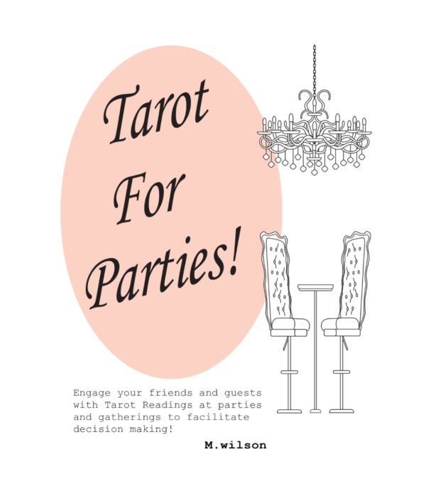 Inspired Tarot- Tarot For Parties! by m.wilson nonfiction - Booksellers Affiliate Resale Books